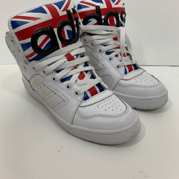 5b77abfa3c6d Jeremy Scott x Adidas Other - Adidas Jeremy Scott Hi Top Sneakers Shoes  White